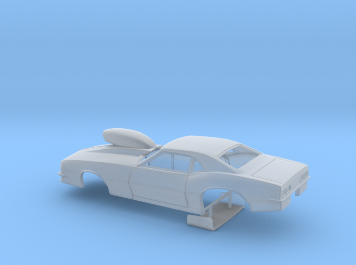 1/43 Pro Mod 68 Camaro With Scoop 3d printed