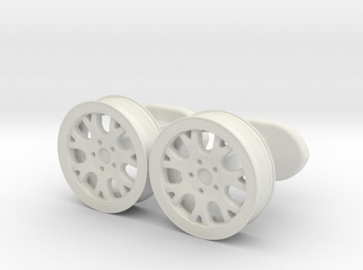rims cufflinks 3d printed