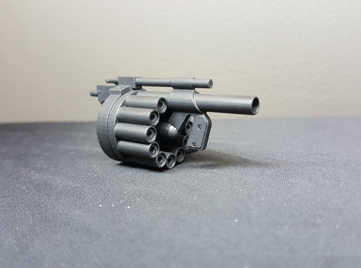 Hawk MM1 Grenade Launcher 1:10 scale 3d printed