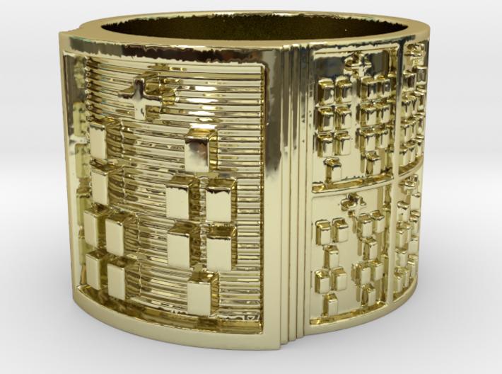 ODIROSO Ring Size 14 3d printed