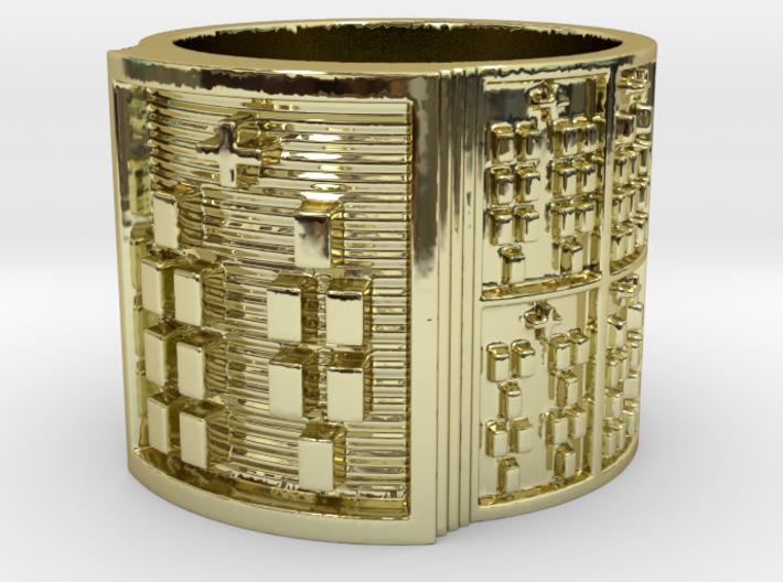 ODIBARA Ring Size 11-13 3d printed