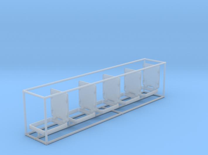 1/72 DKM Hatche Open Lid V1 Set x5 3d printed