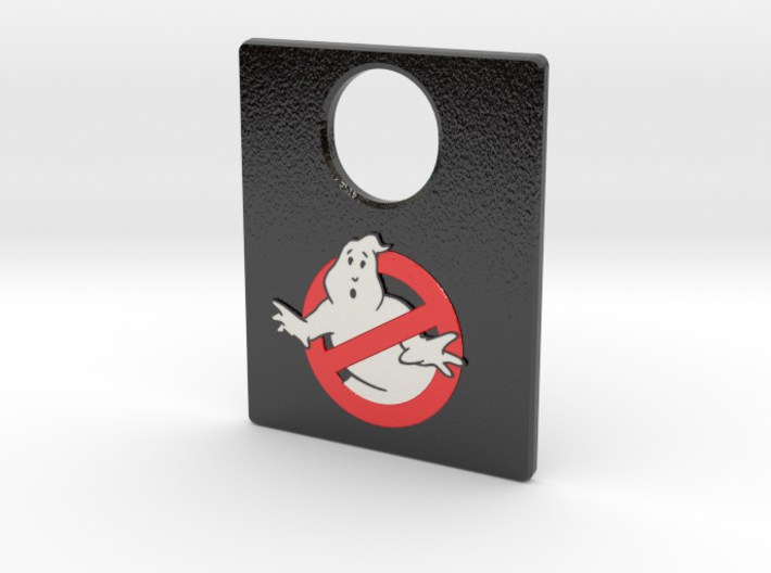 Pinball Plunger Plate - Ghost Bustin 7 3d printed
