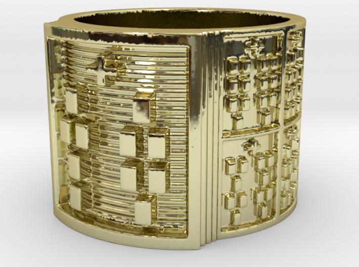 ODITAKOFEÑO Ring Size 13.5 3d printed