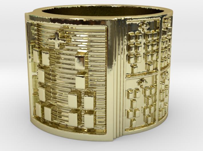 IROSOWORI Ring Size 13.5 3d printed