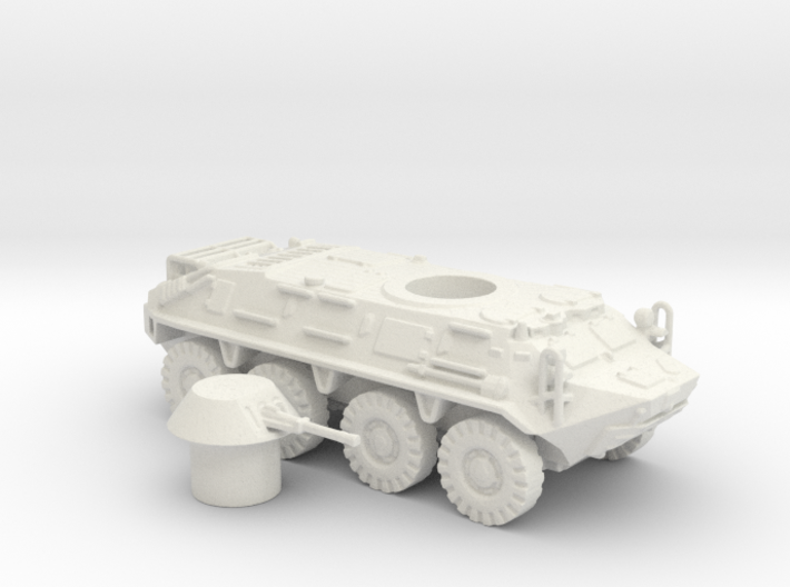 BTR- 60 vehicle (Russian) 1/87 3d printed