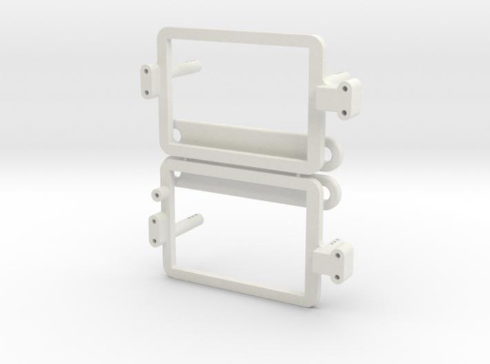 Saddle Pack Tray Set 3d printed