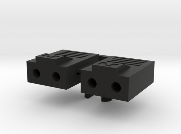 Alpha Lion's Missile Pods 3d printed