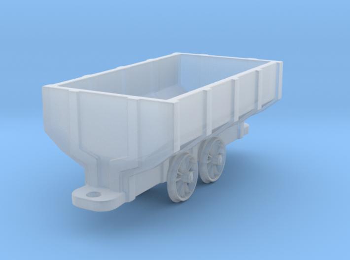 Wooden Mine Car - HOn3 3d printed