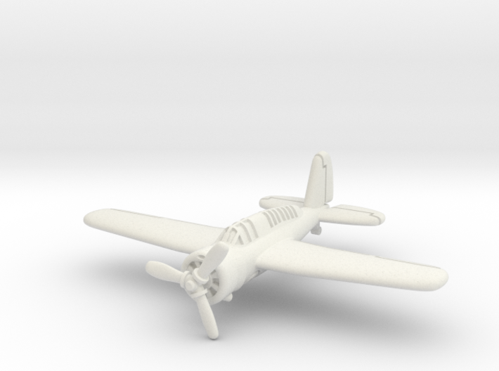 Brewster SBA scout bomber 1/285 6mm 3d printed