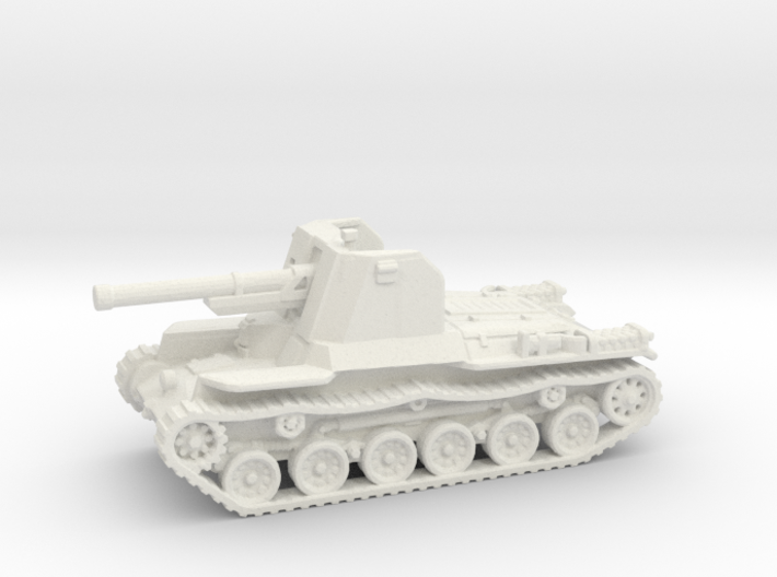 Ho Ni tank (Japan) 1/144 3d printed