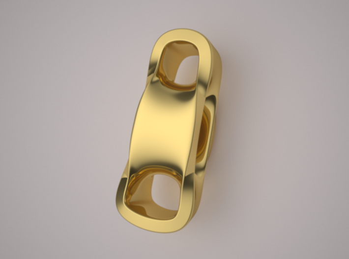 Triple Cube Gold 099 3d printed