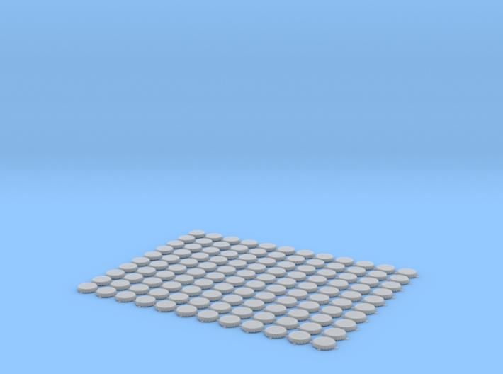 Bottlecaps scale 1:12 150mm 120pcs 3d printed