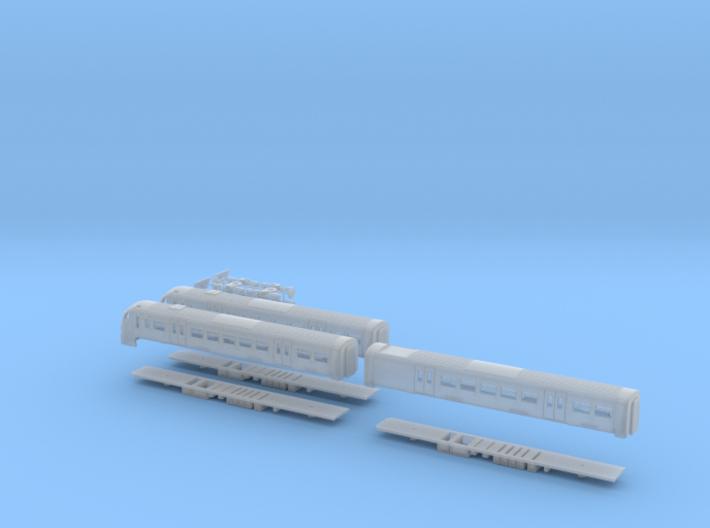 Scotrail Class 334 N Gauge 3d printed
