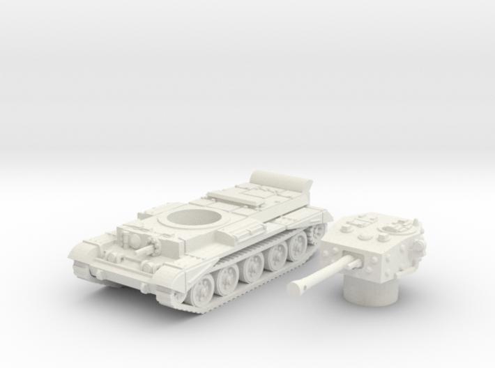 Cromwell IV Tank (British) 1/100 3d printed