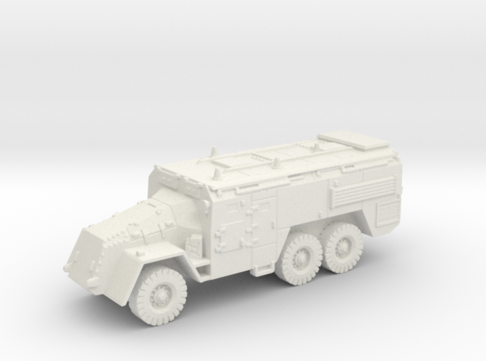 AEC Armoured Command Vehicle (British) 1/144 3d printed