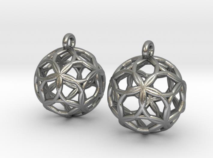 Starfish Sphererings 3d printed