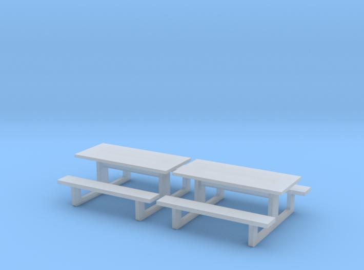 TJ-H01142x2 - Tables en béton 3d printed