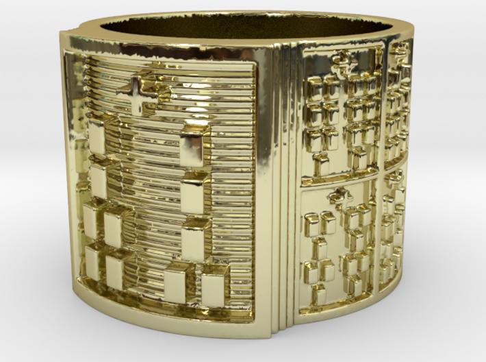 OGUNDAROSO Ring Size 13.5 3d printed