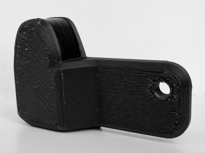 Sony A7II A7rII grip extension 3d printed FDM test print with grip material applied