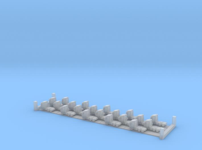 DAF XF 6x4 (1:1250) x20 3d printed