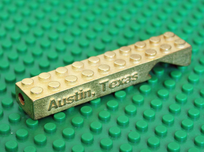 Lego Brick Bottle Opener - Custom 3d printed Add your custom text