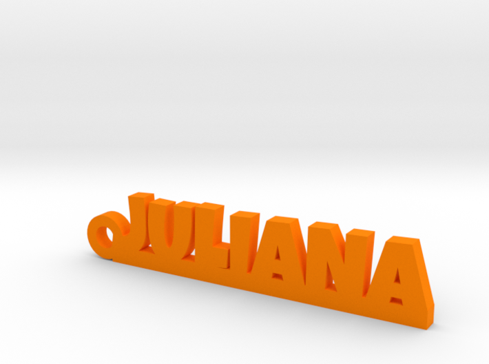 JULIANA Keychain Lucky 3d printed