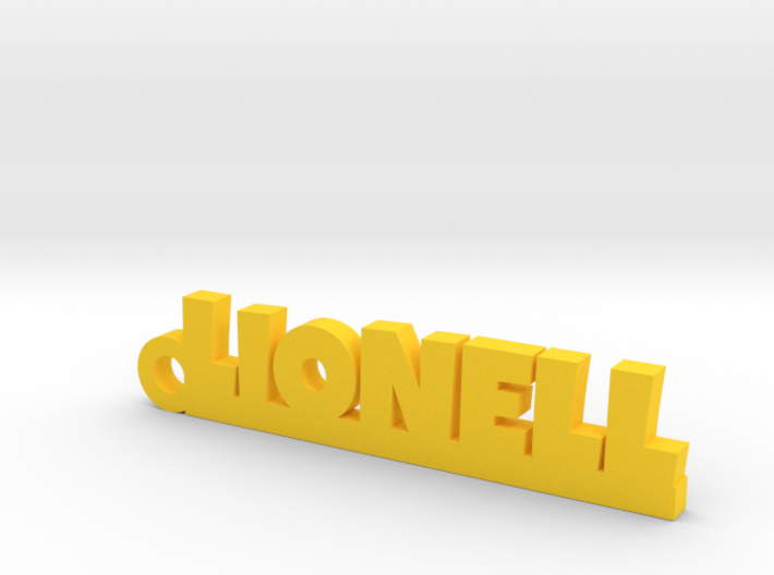 LIONELL Keychain Lucky 3d printed