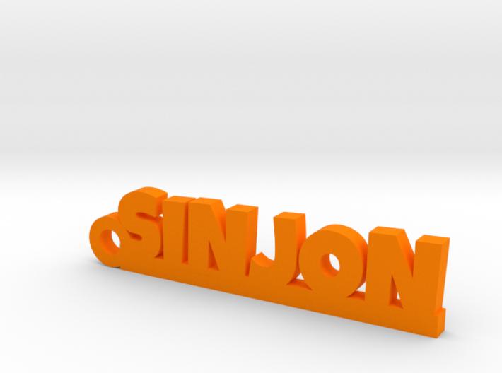 SINJON Keychain Lucky 3d printed