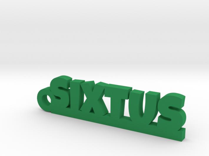 SIXTUS Keychain Lucky 3d printed