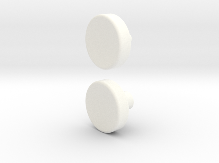 Spinner button 3d printed