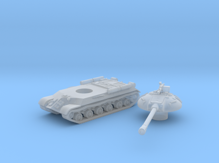 IS-3 Tank (Russian) 1/200 3d printed