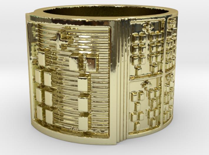 OSABARA Ring Size 13.5 3d printed