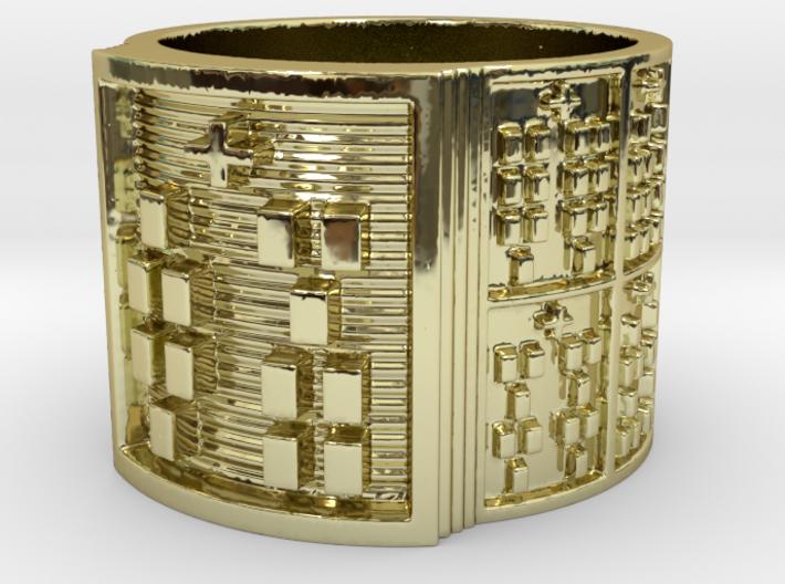 IKADI Ring Size 14 3d printed