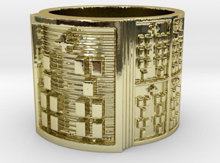 IKAROSO Ring Size 11-13 3d printed