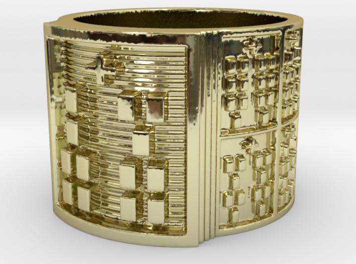 IKAROSO Ring Size 13.5 3d printed