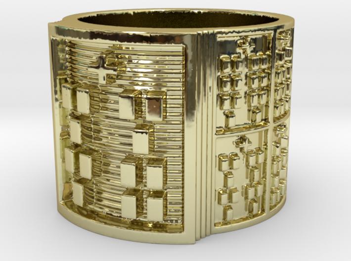 IKAFUN Ring Size 11-13 3d printed