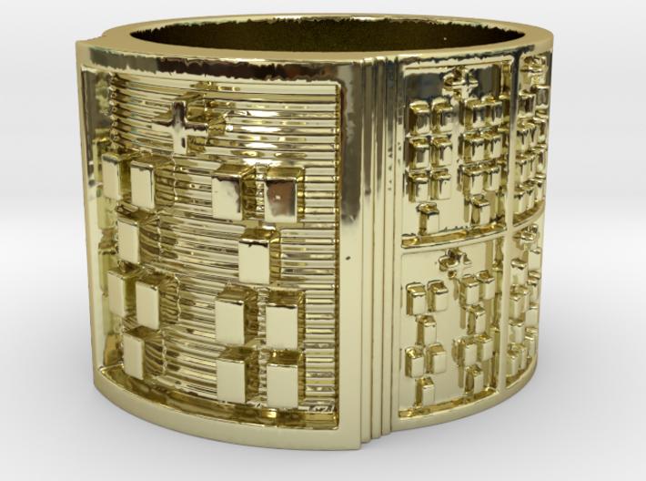 IKAFUN Ring Size 14 3d printed