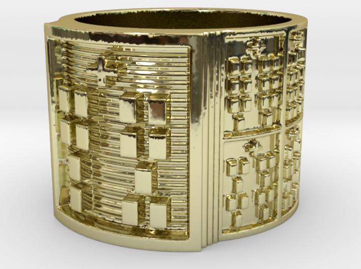 OTRUPONJUANI Ring Size 13.5 3d printed