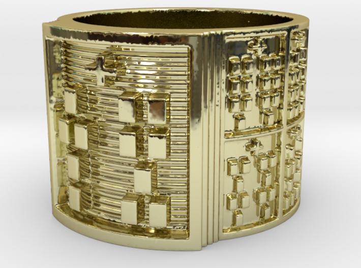 OTRUPONTAURO Ring Size 14 3d printed