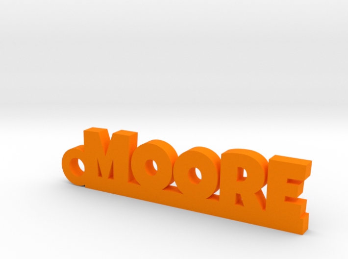 MOORE Keychain Lucky 3d printed