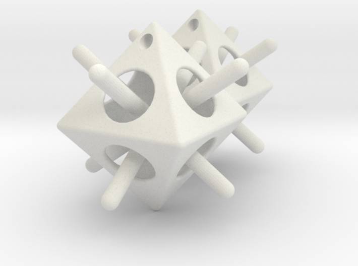 Octohedron Capture 3d printed