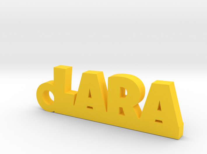 LARA Keychain Lucky 3d printed