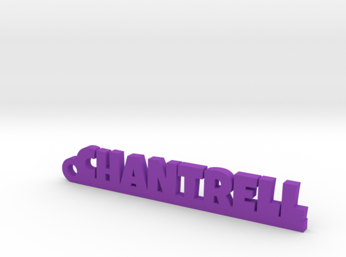 CHANTRELL Keychain Lucky 3d printed