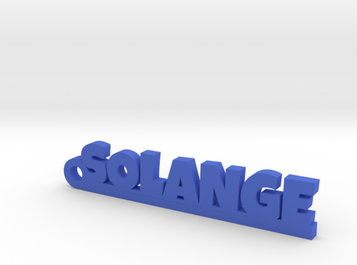 SOLANGE Keychain Lucky 3d printed