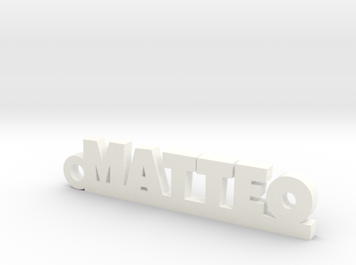 MATTEO Keychain Lucky 3d printed