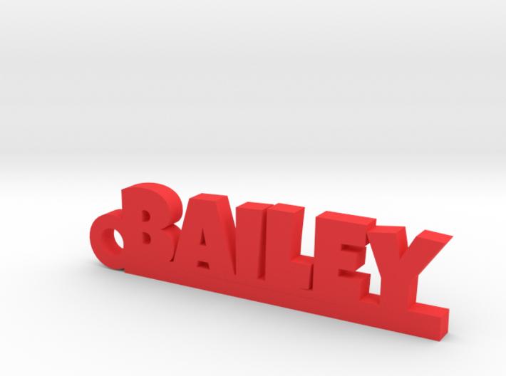 BAILEY Keychain Lucky 3d printed