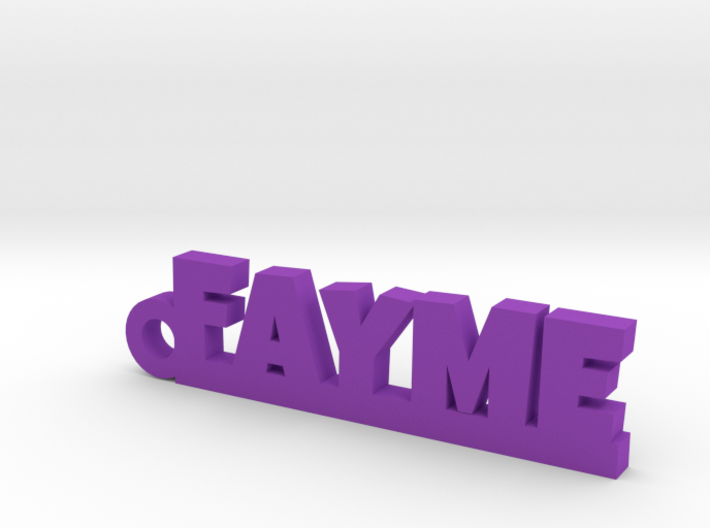 FAYME Keychain Lucky 3d printed