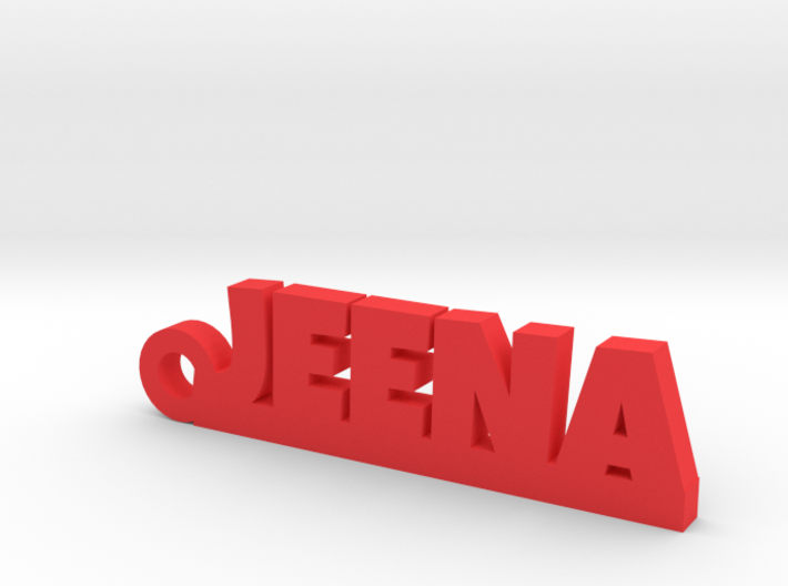 JEENA Keychain Lucky 3d printed