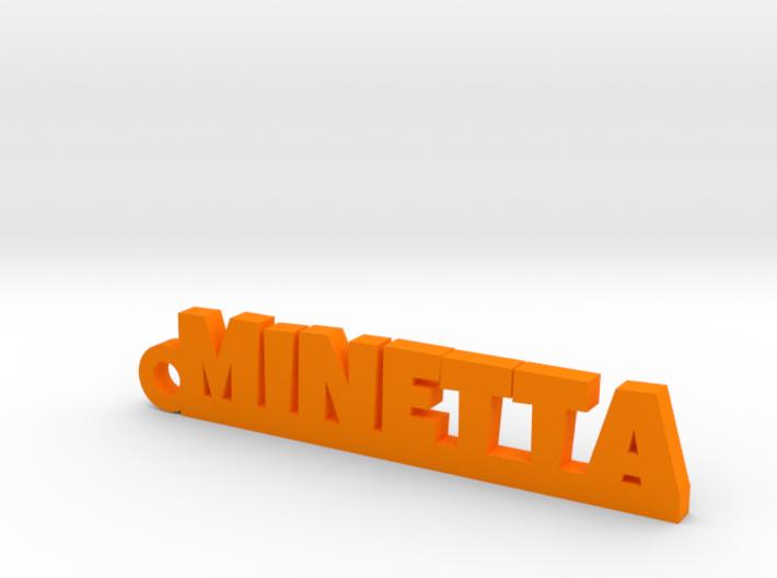 MINETTA Keychain Lucky 3d printed